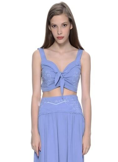 Mink Pink Bluz Mavi